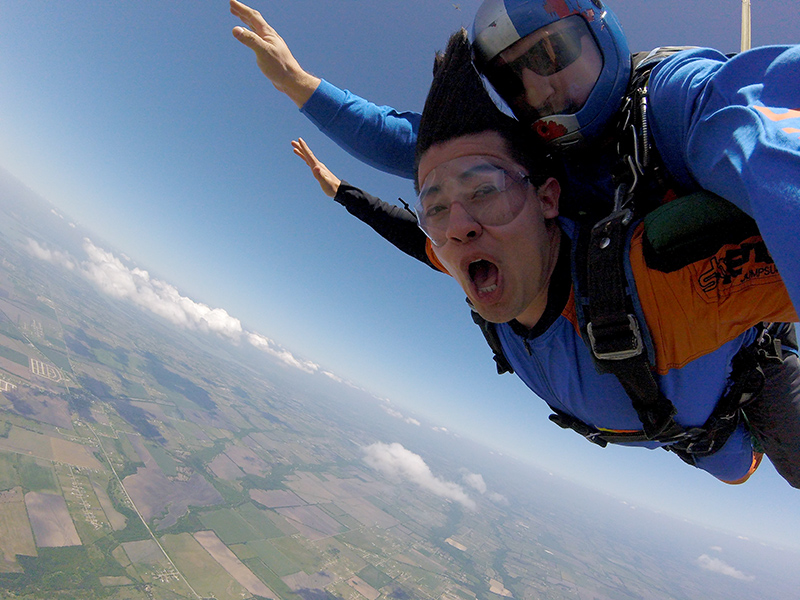 First Time Tandem Skydive | Dallas Skydive Center - The